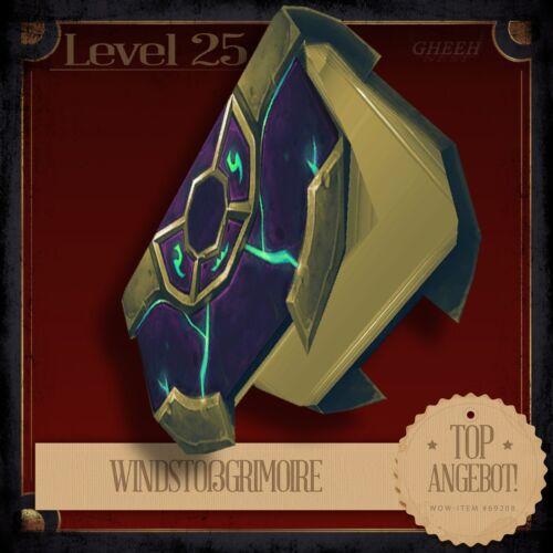 » WindstoßgrimoireGusting GrimoireWorld of Warcraft TCG Haustier L25 «