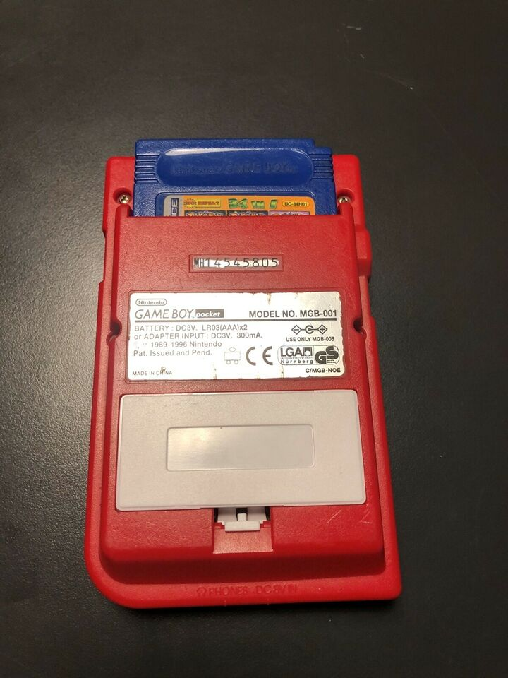 Nintendo Gameboy Pocket, God
