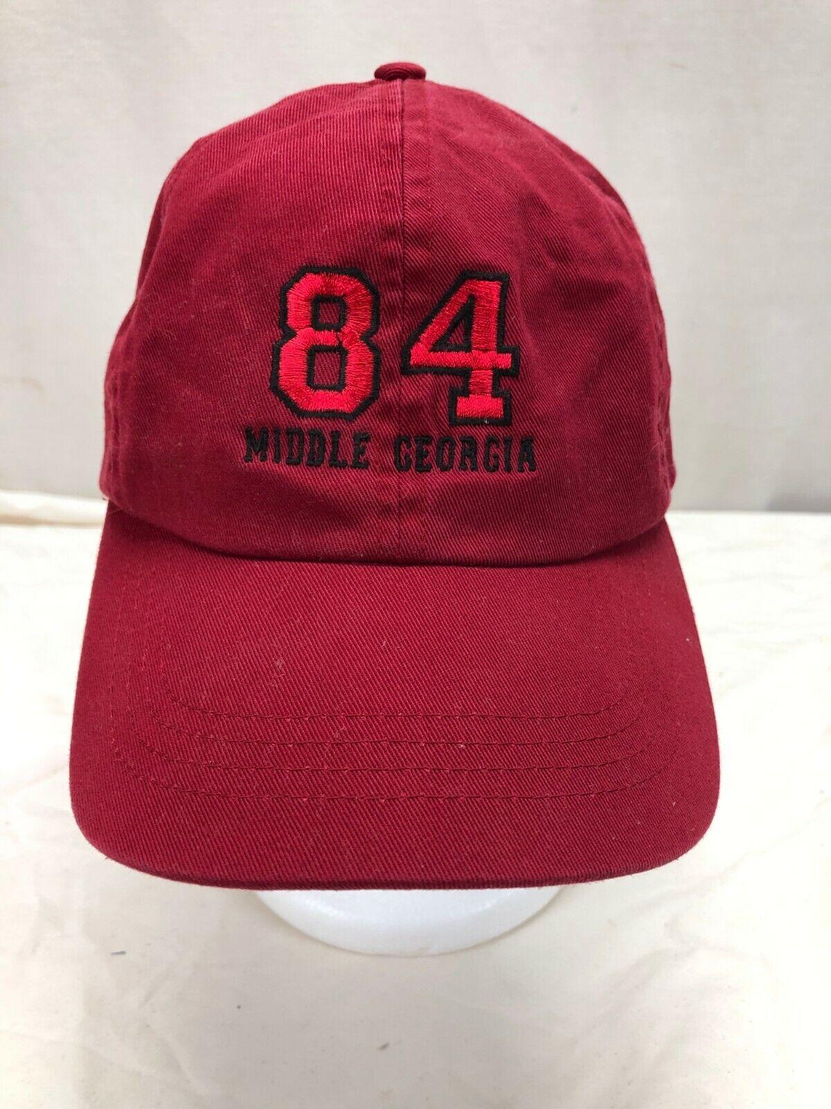 84 Mittlere Georgia Einstellbare Strapback Kappe Hut