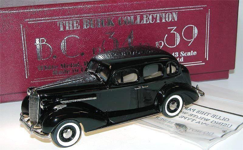 Brooklin bc 013x - 1936 Buick Special 4-door sedan m-41 nero 1 43 Limited 350