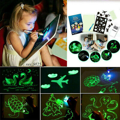 Glow In The Dark Neon Doodle Board Perfect Gift For Kids All Ages