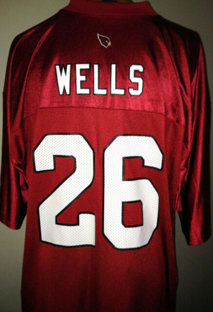 43e598c2b267 Reebok Arizona Cardinals Beanie Wells Jersey for sale online