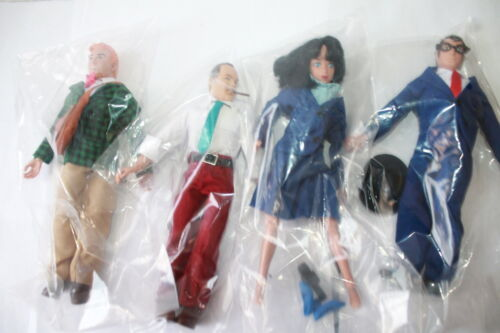 figures Superman série 2; Clark; lois; Jimmy; Perry new in Polybag 8 in environ 20.32 cm