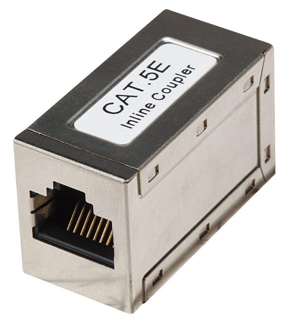 Intellinet Cat5e Modular Inline Coupler Keystone