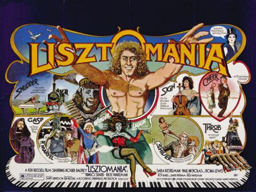 Lisztomania Roger Daltrey vintage movie poster print #3