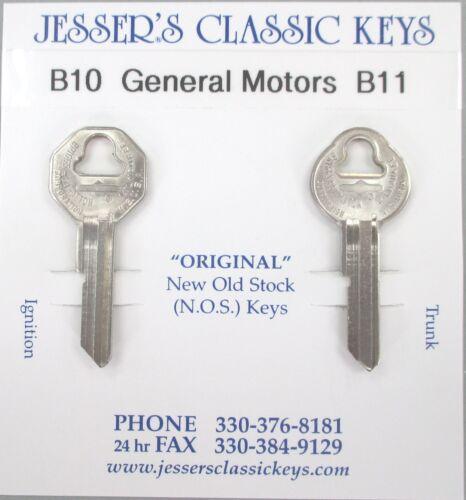 Pontiac NOS B10 B11 Briggs /& Stratton Original Keys Set B/&S 1960 1961 1962 1963