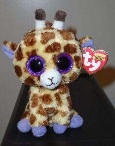 NMT  Ty Beanie Boo ~ SAFARI the Giraffe (6 Inch)(Glitter   Sparkly ... 910c423a7489