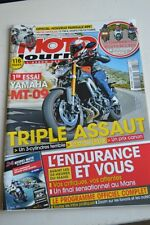 MOTO JOURNAL N°2064 HONDA C95 150 VFR 800 DUCATI 899 PANIGALE YAMAHA MT-09 2013
