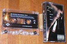 2Pac ~ Me Against The World - Music Cassette Album w 15 Tracks - Explicit Lyrics
