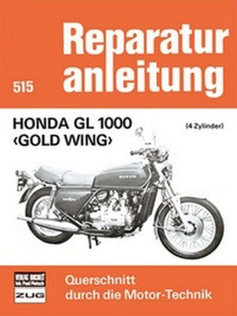 Manual de Servicio Instrucciones Honda Gl 1000 Oro Ala 1975 ,76 ,77 ,78 & 1979