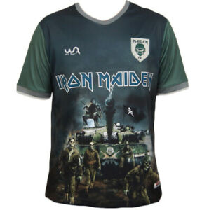 Seventh Son of a Seventh Son Iron Maiden Limited Edition Soccer Jersey Wa Sports