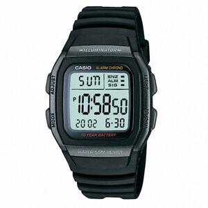 b9e2681392f New Original Casio W-96H-1B Sport Mens Watch Multifunction 10 Year ...