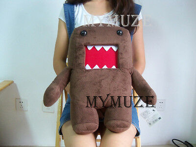 Soft Domo-Kun Plush Toy Stuffed Doll DomoKun Japanese Warm Pillow Decoration