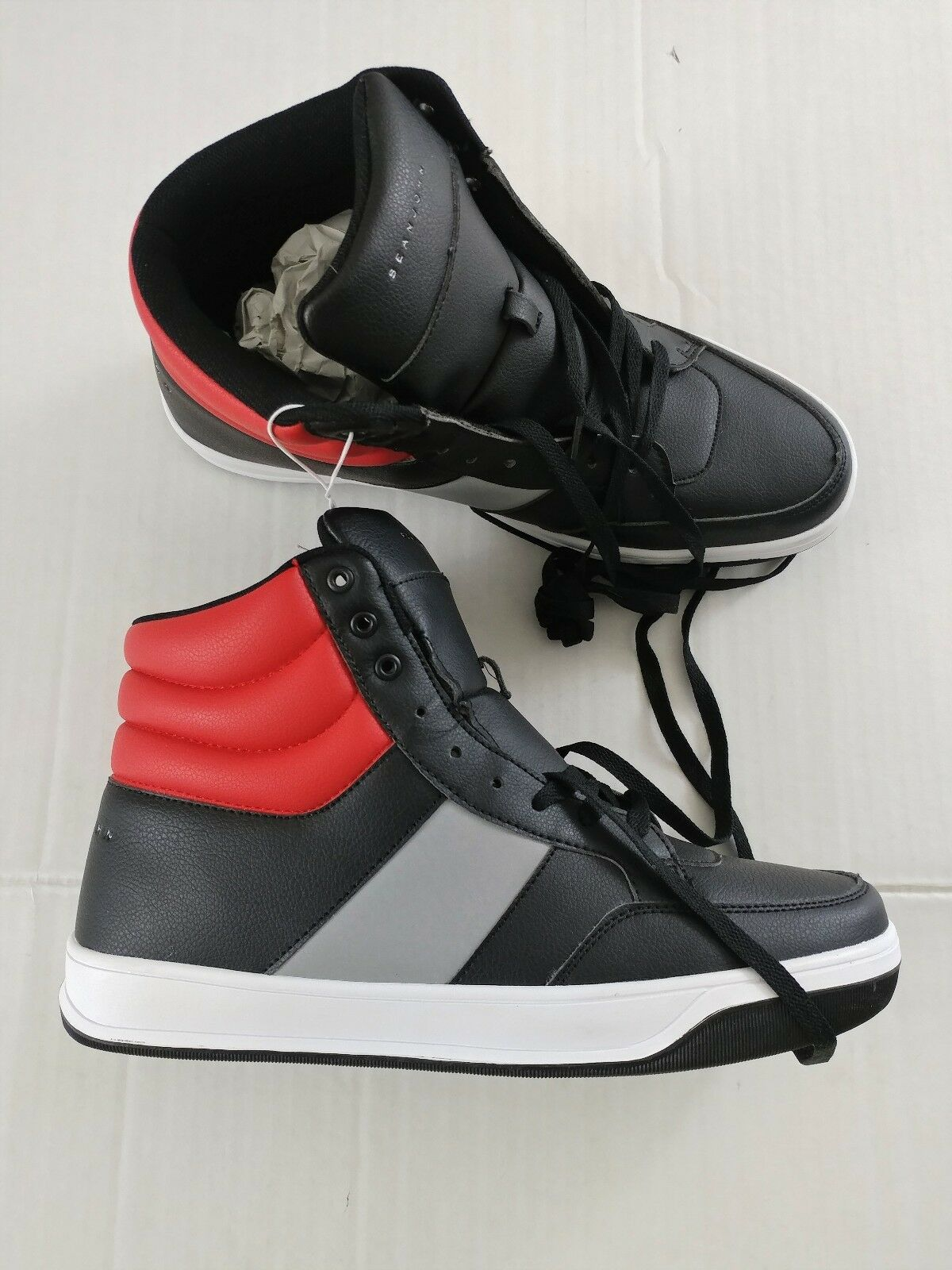 SEAN JOHN Men's High Top Basketball shoes Size 13