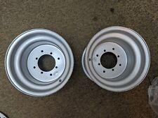 YFZ450 YFZ 450 Pair of Rear Wheels Rims Polished BOSS RACING 10x8 3+5