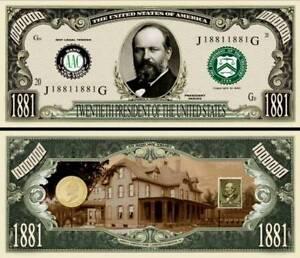 3rd President Thomas Jefferson Million Dollar Funny Money Novelty Note SLEEVE