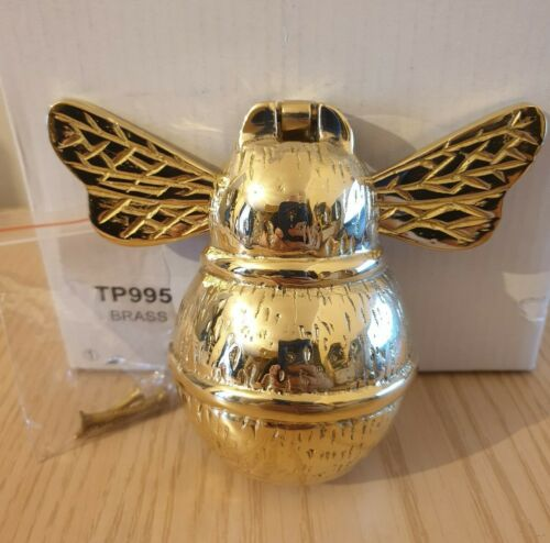 Bumble Bee heurtoir de matériel en laiton or Brand New in Box