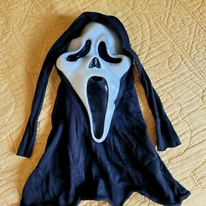 Vintage Scream Ghostface Mask Gen1 Fun World Div, Cotton, Fantastic Faces,  TLC*