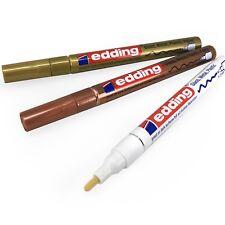 Edding Lackmarker 780 paint marker gold silber oder weiß  0,8 mm