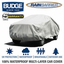 Budge Rain Barrier Truck Cover Fits Long Bed Crew Cab up to 22' Long |Waterproof