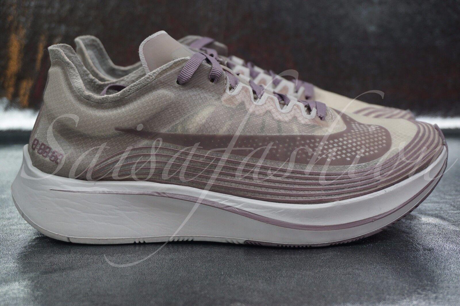 Nike NikeLab Zoom Fly SP Chicago Taupe Grey Obsidian AA3172-200 Men's Sz 8.5