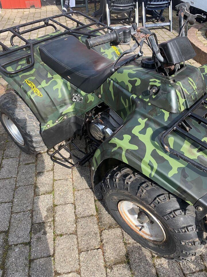 Motottek, 175 ccm, Grøn