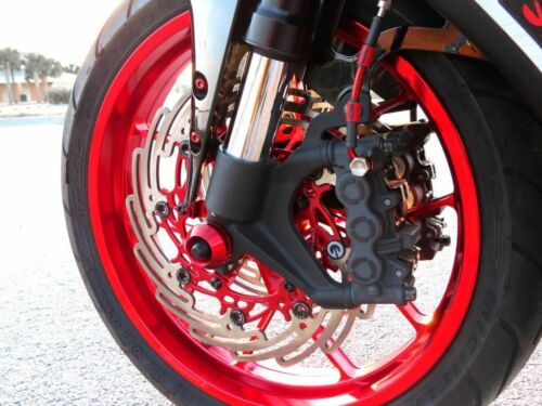 SUZUKI GSXR1000 2003-2004 CORE MOTO FRONT /& REAR BRAKE LINE KIT TRANSLUCENT RED