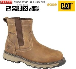 Caterpillar CAT Pelton S1P SRC Marrone Acciaio Punta