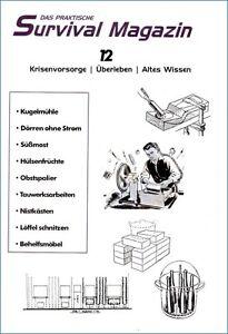 Survival-Magazin-Nr12-Moebelbau-Trockenschrank-Suessmost-Uberleben-Prepper-Wissen