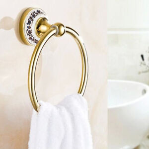 Gold Bathroom Towel Ring