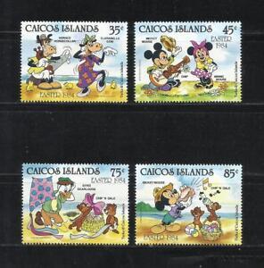 ISLAS-CAICOS-Ano-1984-Tema-WALT-DISNEY