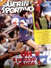 Guerin Sportivo 41 1984 Socrates - Maradona - Steaua Bucarest Roma 0-0  [GS.32]