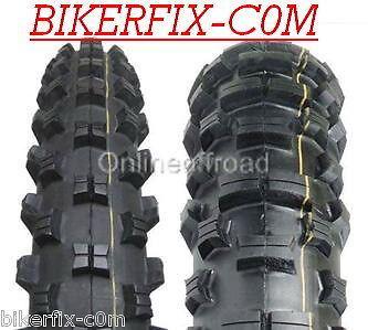 "HONDA XR250 XR400 XR 250 400  Enduro Tyres 90//90-21  120//90-18/"" 120 90 18"
