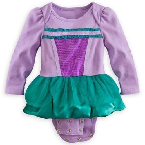 ARIEL~BODYSUIT~Costume~Baby 0-2yr~the Little Mermaid~NWT~Disney Store~2013