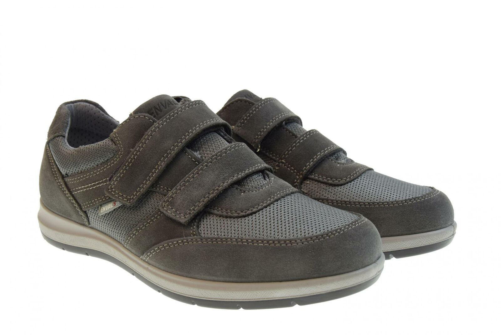 Enval Soft p19g zapatos hombres bajos zapatillas 3232722 gris