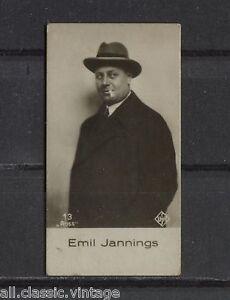 Emil-Jannings-Vintage-Movie-Film-Star-Trading-Photo-Card-1930-039-s-Ross-13