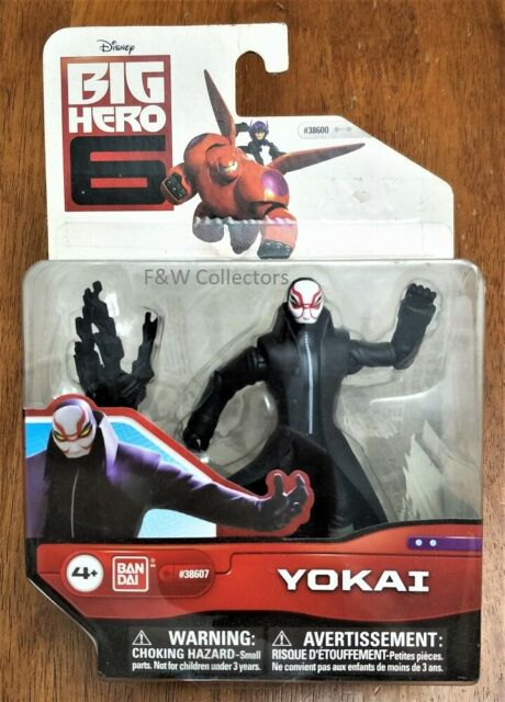 Big Hero 6 Disney Bandai 2014 Action Figure Yokai 10cm With Microbot Claw For Sale Online Ebay