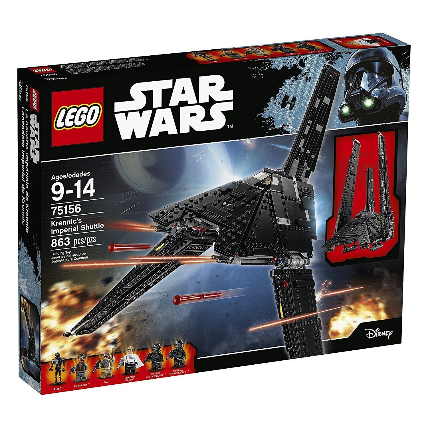 LEGO ® star wars ™ 75156 krennics Imperial shuttle NEUF NEW OVP MISB