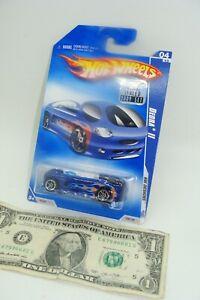 Blue Metallic 2009 Hot Wheels DEORA II #100 HW Designs