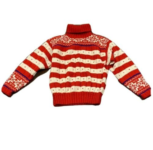 Vintage Ralph Lauren fair isle wool sweater