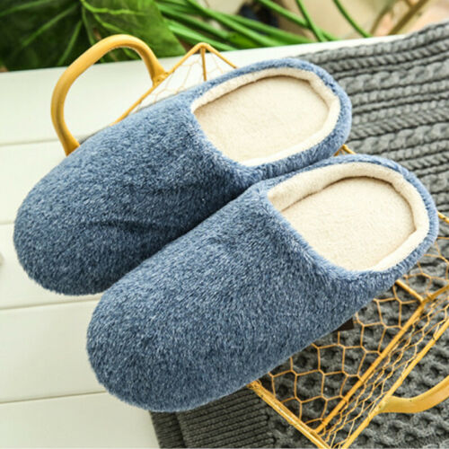 Men Women Flat Closed Toe Slip On Flip Flops Sandals Indoor House Hotel Slippers