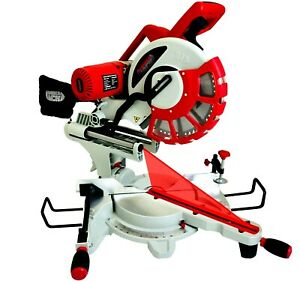 12-034-Compound-Sliding-Mitre-Saw-240v-DOUBLE-BEVEL-with-Laser-amp-60-Tooth-TCT-Blade