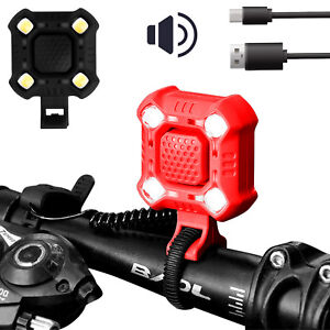 Waterproof-USB-Rechargeable-LED-Bicycle-Headlight-Bike-Head-Light-Lamp-With-Horn