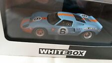 1:43 Scale model of 1969 Le man winning Ford GT40
