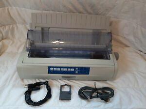OKI Data Microline 421 Dot Matrix Printer, 50cps, 92009704 W/warranty