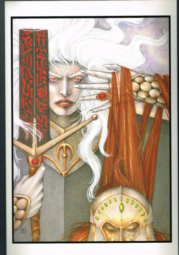 Vanishing Tower by Robert Gould Signed Numbered Print of Elric # 561//600