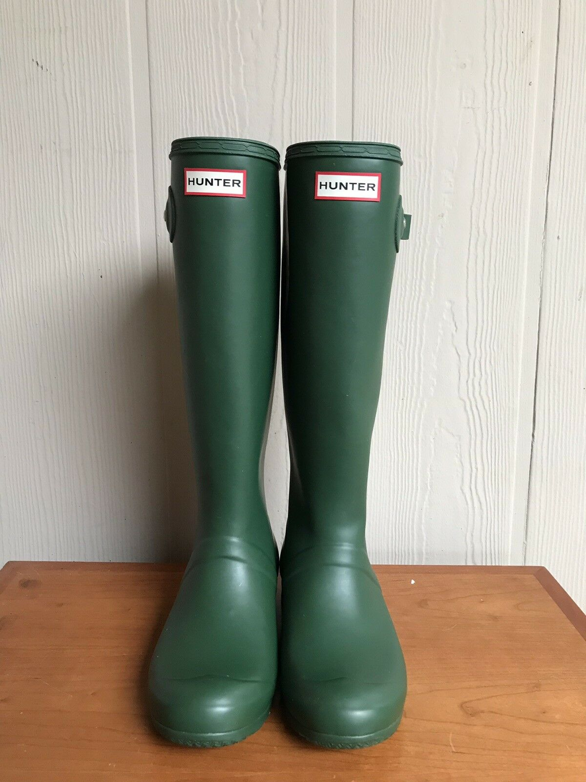 Orginal Hunter stivali US 6(F) 5(M) EU 37 verde