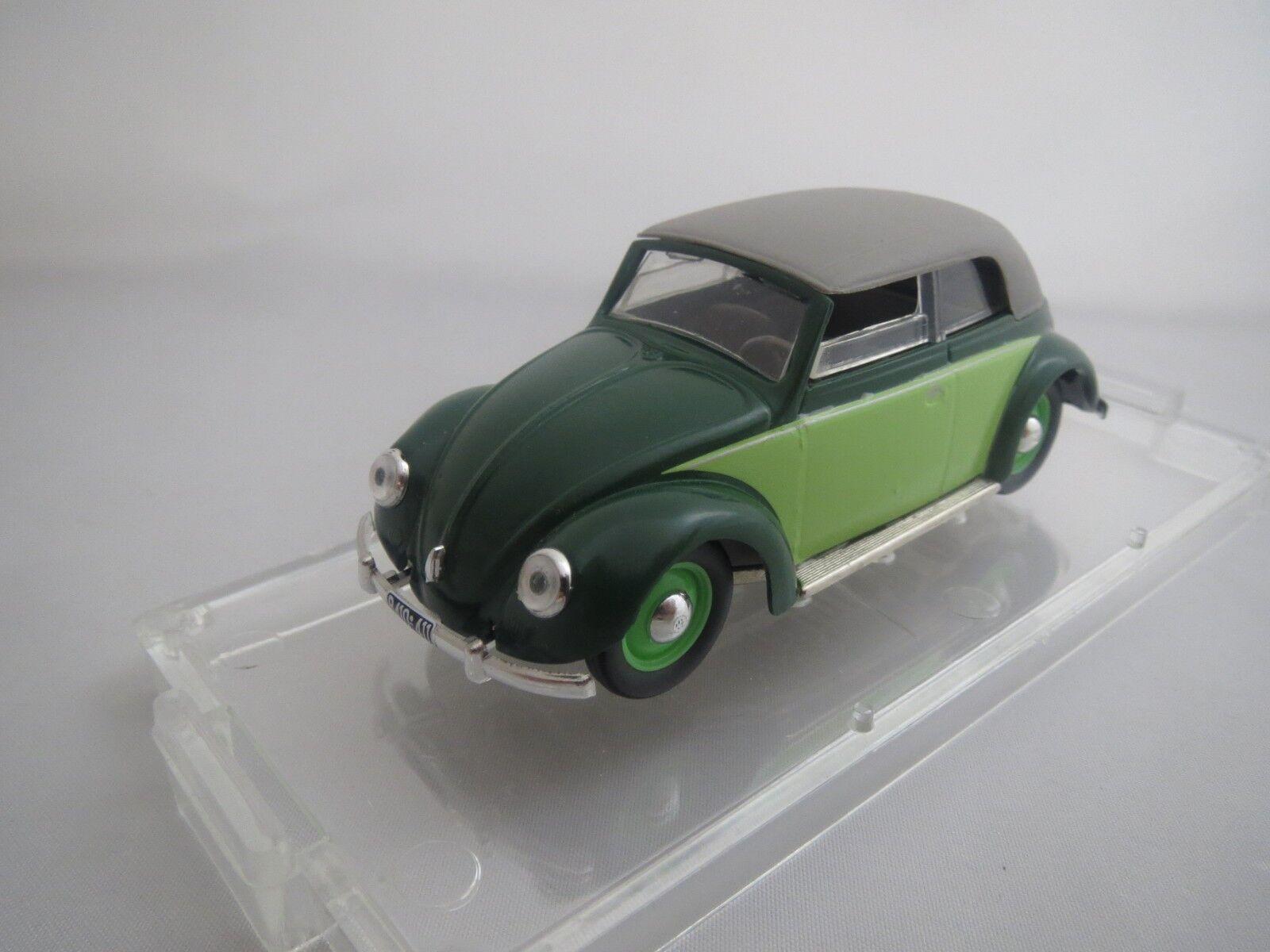 VITESSE  Volkswagen  Käfer  Cabriolet   1949   (hell-dunkelgrün)  1 43  in OVP  | Vielfältiges neues Design