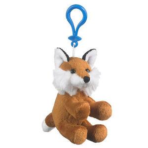 WOODBADGE RED FOX WITH KEYCHAIN WOOD BADGE