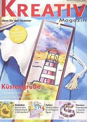 Kreativ Magazin - Ideen für den Sommer Juni/Juli/August 2010